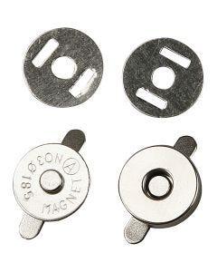 Magnetlås, Dia. 18 mm, 4 st./ 1 förp.
