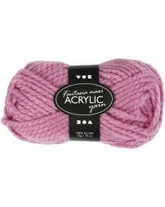 Fantasia Akrylgarn, L: 35 m, stl. maxi , rosa, 50 g/ 1 nystan