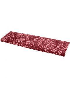 Tyg, B: 145 cm, 140 g, röd, 10 m/ 1 rl.