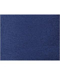 Fleece, L: 125 cm, B: 150 cm, 200 g, blå, 1 st.