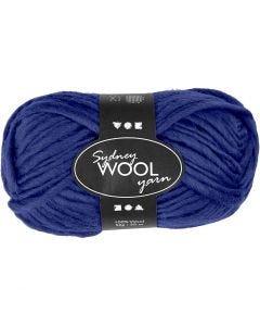 Sydney ullgarn, L: 50 m, blå, 50 g/ 1 nystan