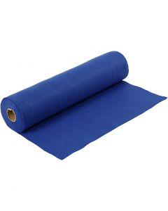 Hobbyfilt, B: 45 cm, tjocklek 1,5 mm, 180-200 g, blå, 5 m/ 1 rl.