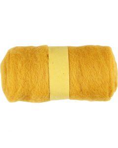 Kardad ull, gul, 100 g/ 1 bunt