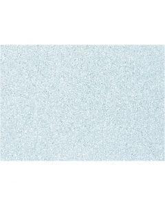 Hobbyfilt, A4, 210x297 mm, tjocklek 1 mm, ljusblå, 10 ark/ 1 förp.