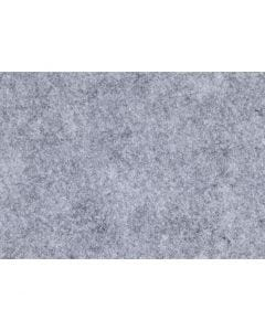 Hobbyfilt, A4, 210x297 mm, tjocklek 1,5-2 mm, Melerad, grå, 10 ark/ 1 förp.