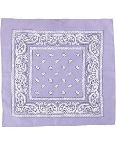 Bandana, stl. 55x55 cm, lila, 1 st.