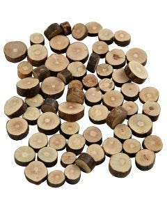 Trämix, Dia. 10-15 mm, tjocklek 5 mm, 230 g/ 1 förp.