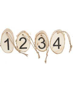 Adventssiffror, 4 st./ 1 förp.