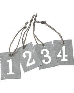 Adventssiffror, 4 st./ 1 set
