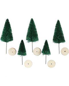 Granar, H: 40+60 mm, grön, 5 st./ 1 förp.