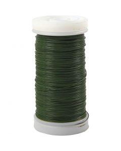 Myrtentråd, tjocklek 0,31 mm, 100 g, grön, 160 m/ 1 rl.