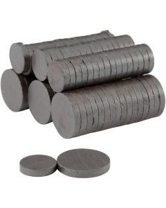 Magnet, Dia. 14+20 mm, tjocklek 3 mm, 2x250 st./ 1 förp.