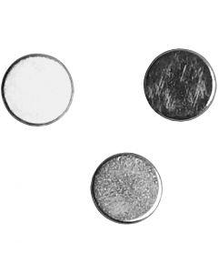 Powermagnet, Dia. 5 mm, tjocklek 2 mm, 10 st./ 1 förp.