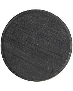 Magnet, Dia. 20 mm, tjocklek 3 mm, 50 st./ 1 förp.