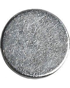 Powermagnet, Dia. 10 mm, tjocklek 2 mm, 10 st./ 1 förp.