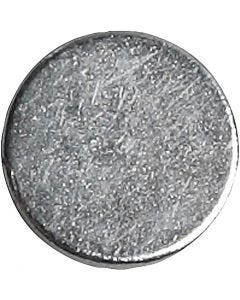 Powermagnet, Dia. 10 mm, tjocklek 2 mm, 100 st./ 1 förp.