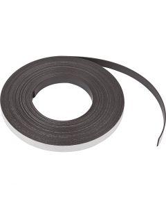 Magnetband, B: 12,5 mm, tjocklek 1,5 mm, 1 m/ 1 förp.