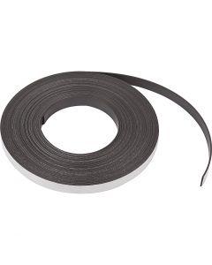 Magnetband, B: 12,5 mm, tjocklek 1,5 mm, 10 m/ 1 förp.