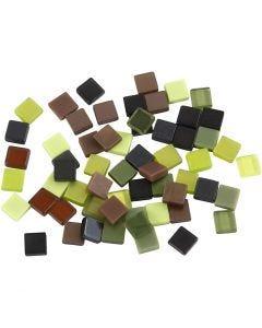 Minimosaik, stl. 5x5 mm, grön, 25 g/ 1 förp.