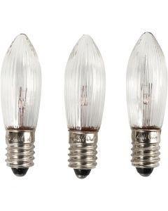 LED-glödlampa, H: 45 mm, Dia. 15 mm, 3 st./ 1 förp.