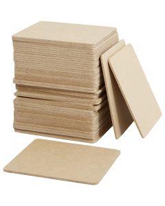 Platta, stl. 10x10x0,3 cm, 50 st./ 1 förp.