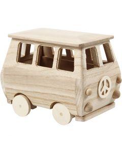 Minibuss, stl. 17x10x13 cm, 1 st.