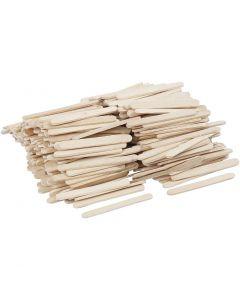 Glasspinnar, L: 5,5 cm, B: 6 mm, 400 st./ 1 förp.