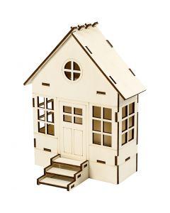 Hus konstruktion, H: 24 cm, B: 19 cm, 1 st.