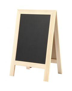 Sandwich blackboard, H: 30 cm, B: 19 cm, 1 st.