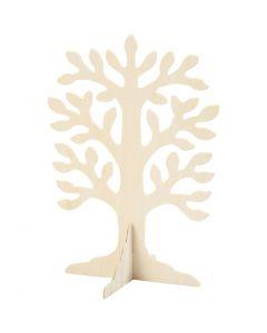 Träd, stl. 30x21,5 cm, 1 st.