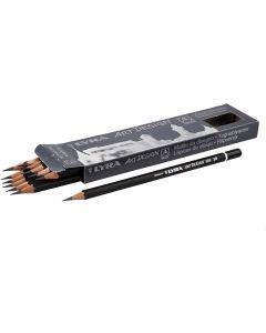 Art Design blyertspennor, Dia. 6,9 mm, hårdhet 3B, kärna 1,8 mm, 12 st./ 1 förp.