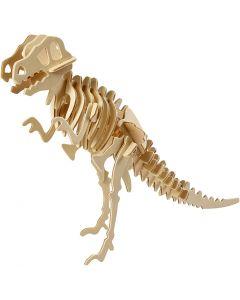 3D Pussel, Dinosaurie, stl. 33x8x23 cm, 1 st.