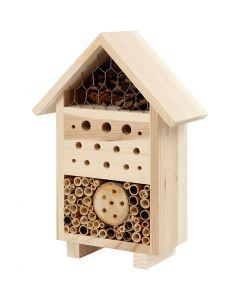 Insektshotell, H: 26,1 cm, djup 9,2 cm, B: 18,4 cm, 1 st.