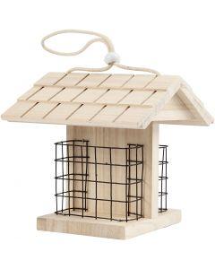 Fågelbord, H: 17.5 cm, L: 11.6 cm, B: 13,5 cm, 1 st.