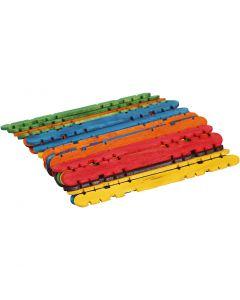 L: 11,4 cm, B: 10 mm, mixade färger, 30 st./ 1 förp.