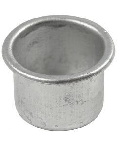 Metallinsats för ljus, H: 18 mm, Dia. 25 mm, Hålstl. 22 mm, 12 st./ 1 förp.