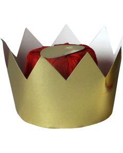 Drottningkrona, H: 7 cm, Dia. 9 cm, 1 st.