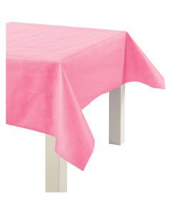 Duk av imiterat tyg, B: 125 cm, 70 g, rosa, 10 m/ 1 rl.