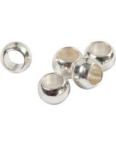 Wireklämmor, Dia. 2,5 mm, försilvrad, 1000 st./ 1 förp.