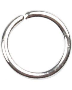O-ring, stl. 5,4 mm, tjocklek 0,7 mm, försilvrad, 500 st./ 1 förp.