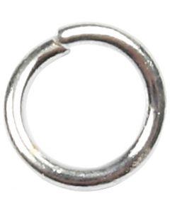 O-ringar, stl. 4,4 mm, tjocklek 0,7 mm, försilvrad, 500 st./ 1 förp.