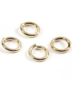 O-ringar, förgylld, 500 st./ 1 förp.