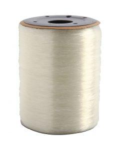 Elastisk smyckestråd, rund, tjocklek 0,8 mm, 1000 m/ 1 rl.
