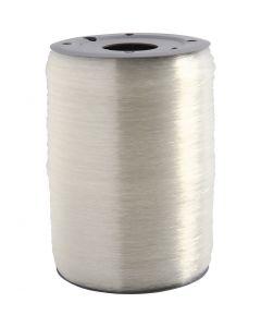 Elastisk smyckestråd, rund, tjocklek 0,5 mm, 1000 m/ 1 rl.