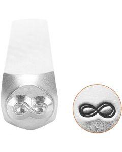 Prägelstämpel, Evighetstecken, L: 65 mm, stl. 6 mm, 1 st.