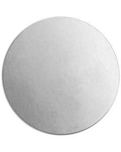 Tag, Rund, Dia. 20 mm, tjocklek 1,3 mm, aluminium, 15 st./ 1 förp.