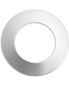 Tag, Ring, Dia. 32 mm, Hålstl. 19,32 mm, tjocklek 1,3 mm, aluminium, 9 st./ 1 förp.