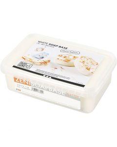Tvålmassa med shea, vit, 1 kg