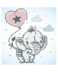 Diamond Dotz, Baby elefant, 1 förp.
