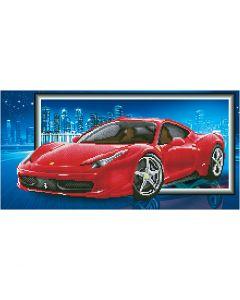 Diamond Dotz, Ferrari, stl. 40x50 cm, 1 förp.